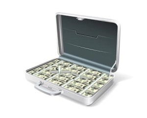 Feuerfeste Geldkassette